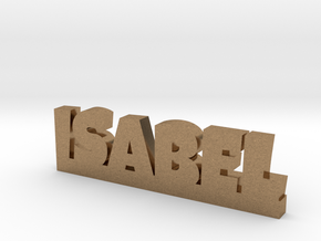 ISABEL Lucky in Natural Brass