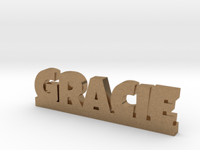 GRACIE Lucky in Natural Brass