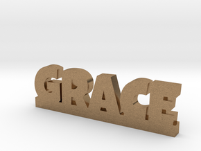 GRACE Lucky in Natural Brass