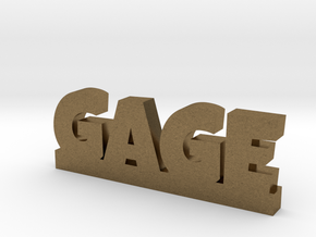 GAGE Lucky in Natural Bronze