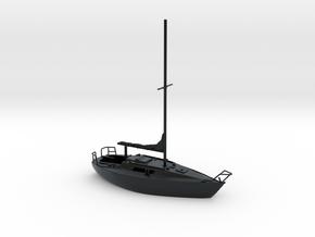 HObat30 - Sailboat in Black Hi-Def Acrylate