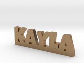 KAYLA Lucky in Natural Brass