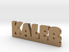 KALEB Lucky in Natural Brass
