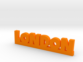 LONDON Lucky in Orange Strong & Flexible Polished