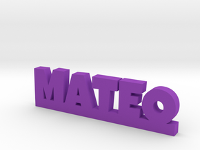 MATEO Lucky in Purple Strong & Flexible Polished