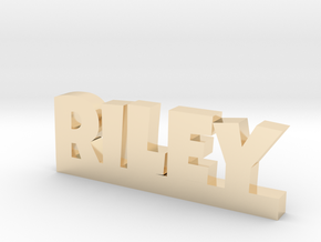 RILEY Lucky in 14k Gold Plated Brass