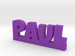 PAUL Lucky in Purple Processed Versatile Plastic