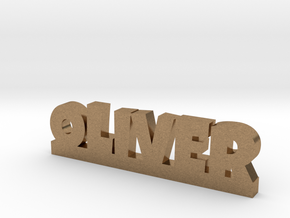 OLIVER Lucky in Natural Brass