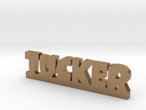 TUCKER Lucky in Natural Brass