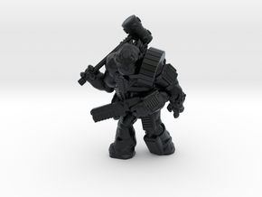 Scilinoid Warrior (28mm/Heroic scale) in Black Hi-Def Acrylate