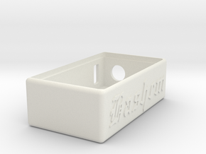 Talymod V1 Hashem Box in White Natural Versatile Plastic
