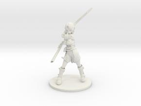 Half-Orc in White Natural Versatile Plastic: Medium