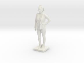 Printle C Femme 128 - 1/20 in White Natural Versatile Plastic