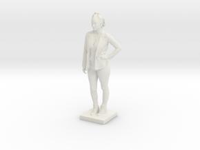 Printle C Femme 128 - 1/18 in White Natural Versatile Plastic