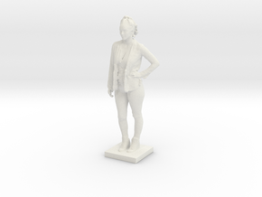 Printle C Femme 128 - 1/35 in White Natural Versatile Plastic