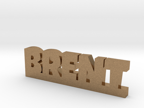 BRENT Lucky in Natural Brass