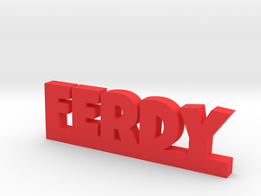 FERDY Lucky in Red Strong & Flexible Polished
