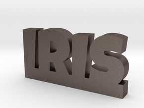 IRIS Lucky in Polished Bronzed Silver Steel