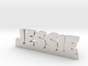 JESSIE Lucky in Rhodium Plated Brass