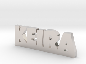 KEIRA Lucky in Rhodium Plated Brass