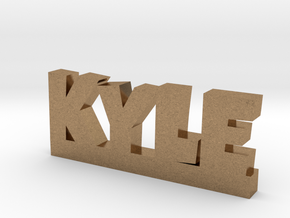 KYLE Lucky in Natural Brass