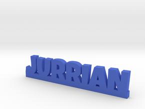 JURRIAN Lucky in Blue Processed Versatile Plastic