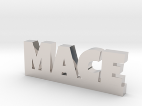 MACE Lucky in Rhodium Plated Brass