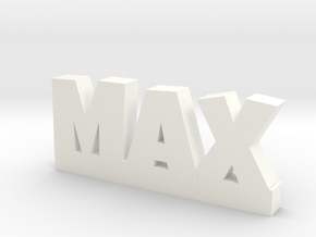 MAX Lucky in White Processed Versatile Plastic