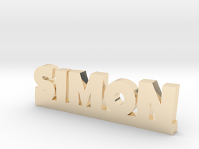 SIMON Lucky in 14k Gold Plated Brass