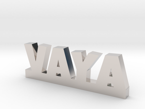 VAYA Lucky in Rhodium Plated Brass
