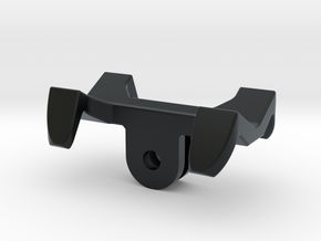GoPro universal flashlight mount in Black Hi-Def Acrylate