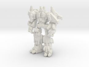 Superion (CW) Miniature in White Strong & Flexible: Small