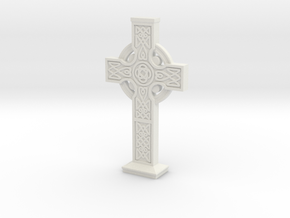 Celticcross6 in White Natural Versatile Plastic
