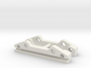YZ2 & YZ4 - Sway Bar Holder in White Natural Versatile Plastic