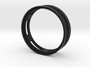 """Beadlock 0.7"""" in Black Natural Versatile Plastic"""