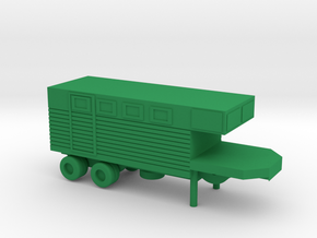1/200 Scale M313 Trailer in Green Strong & Flexible Polished