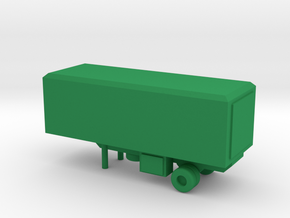 1/200 Scale M119 Trailer in Green Strong & Flexible Polished