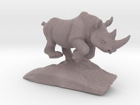 Rhino Gray 6'' long in Full Color Sandstone
