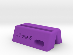 PHONE HOLDER in Purple Processed Versatile Plastic