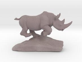 Rhino Gray 7'' Long in Full Color Sandstone
