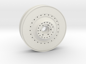 E-100 inner wheel in White Natural Versatile Plastic