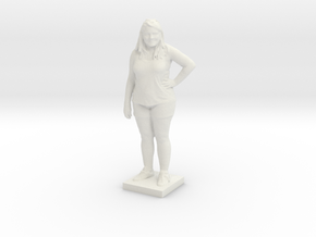 Printle C Femme 102 - 1/18 in White Strong & Flexible