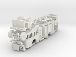 1/64 2017 Philadelphia Spartan Engine in White Natural Versatile Plastic