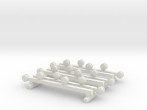 1/64 McDermott Lights set of 3 in White Natural Versatile Plastic