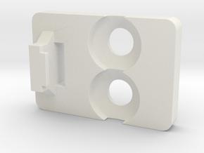 Ikea KVARTAL 6 in White Natural Versatile Plastic