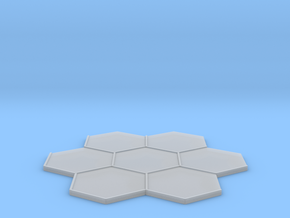 Beauty Base 7-Tile in Smooth Fine Detail Plastic