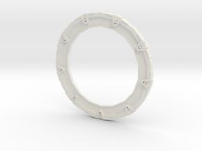 Stargate Ho scale in White Natural Versatile Plastic
