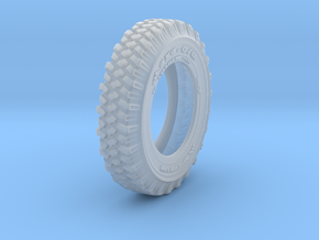 1-16 Land Rover 750x16 Tire in Smooth Fine Detail Plastic