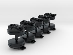 Ion Turrets (armada) in Black Hi-Def Acrylate