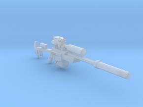 Heavy Laser Sniper (28mm) in Smooth Fine Detail Plastic